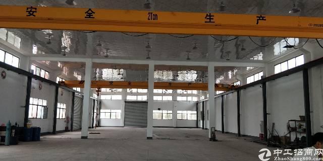惠州湖镇工业园区独栋厂房1800带行车