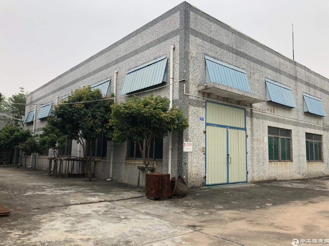 观澜独栋钢构800平带航车厂房招租
