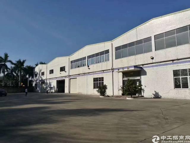 光明区公明玉律独门独院钢构厂房12800平方租金25元-图2