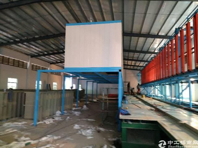 博罗县龙溪镇全新钢构电镀厂房招租