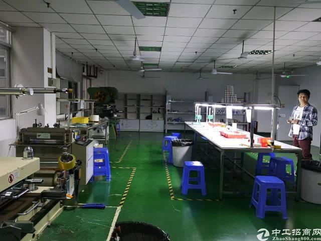 福永沿江高速附近新出1000平带装免转让费厂房-图2