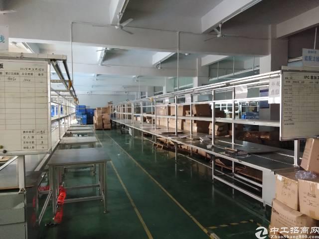 塘厦镇高大尚工业区楼上带装修3900平方出租