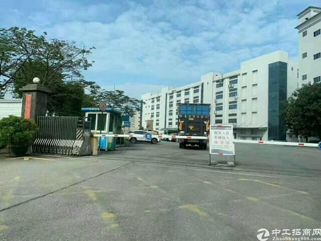 平湖成熟园区原房东一楼1500平方米带牛腿厂房招租