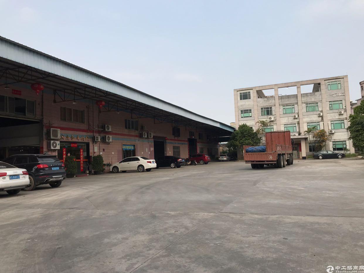 中堂单一层6000平米厂房出售