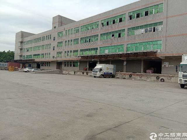平湖仓库一楼4500平米招租,有标准缷货平台,空地大