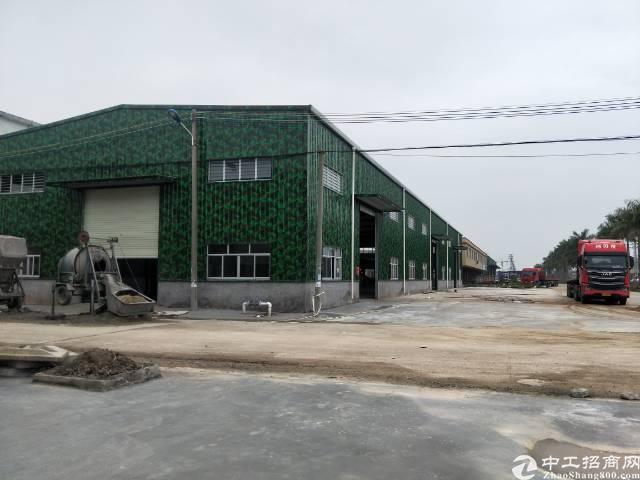 园洲带塑胶环评独院钢构仅售230万