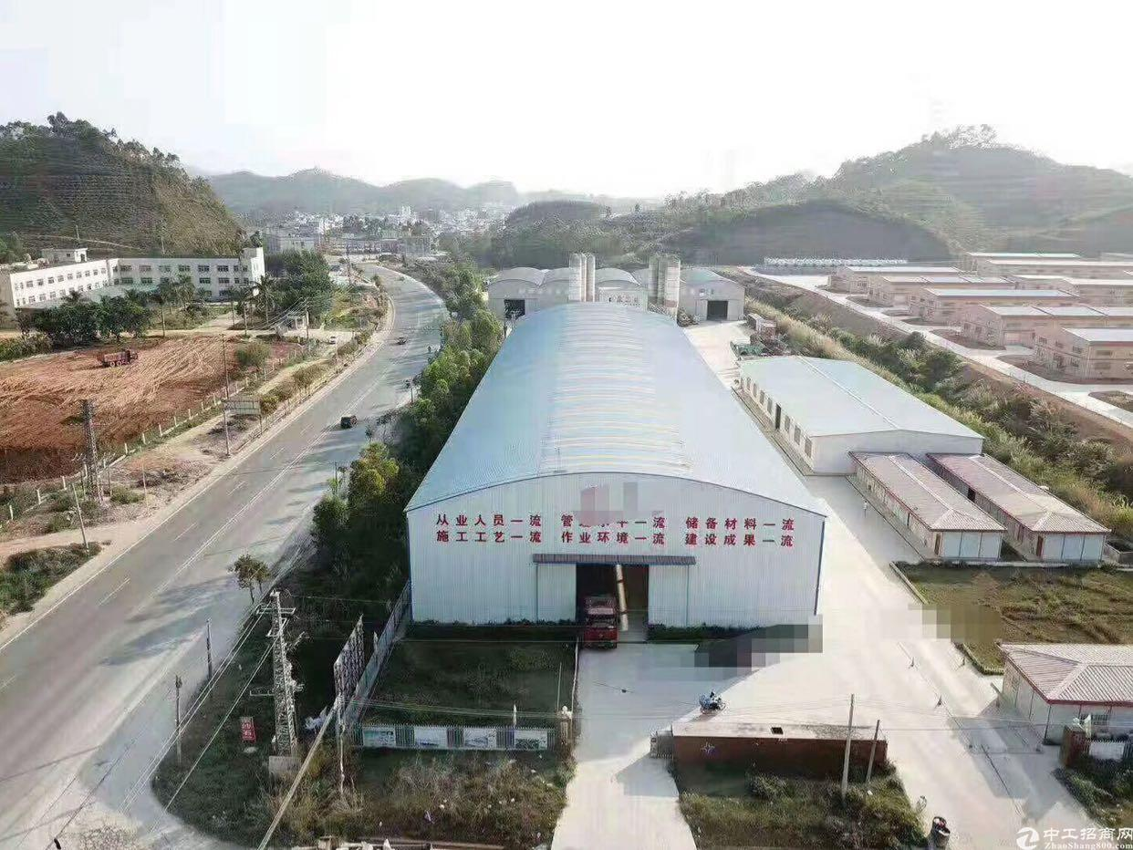 深圳周边新出原房东独门独院钢构厂房10000平无公摊