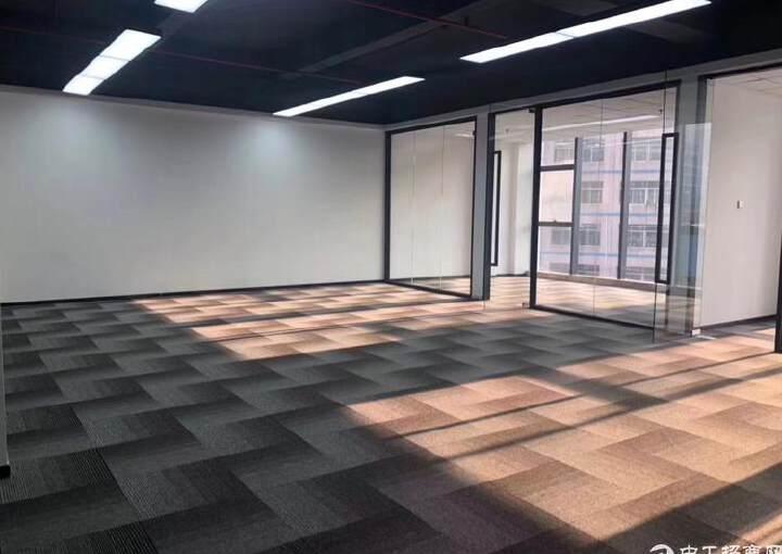 西乡固戍桦穗大厦全新精装修写字楼128平2+1格局图片5