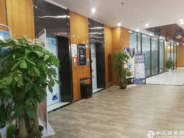 龙华民治大道旁新出楼上500平米带装修厂房出租