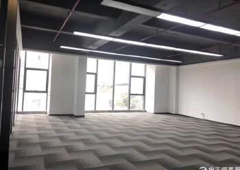 西乡固戍桦穗大厦全新精装修写字楼128平2+1格局图片3