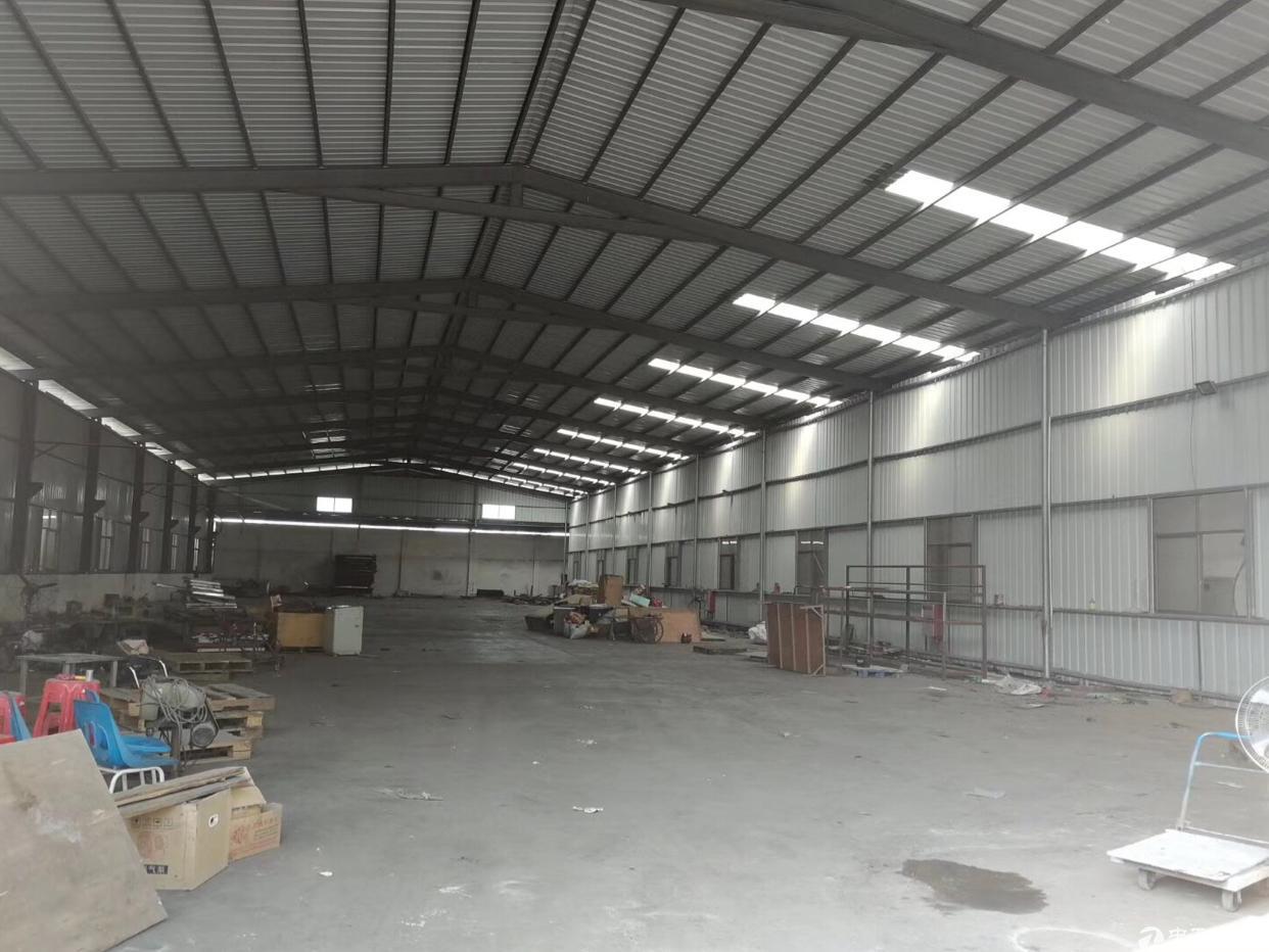 大朗镇独门独院单一层钢结构原房东厂房出租总面积5000平方