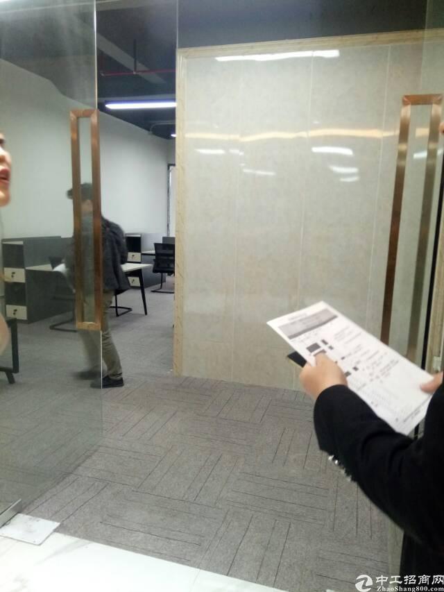 固戍地铁口精装办公室180平出租