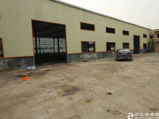 企石新出原房东独院单一层钢构厂房1700平米,宿舍300平米