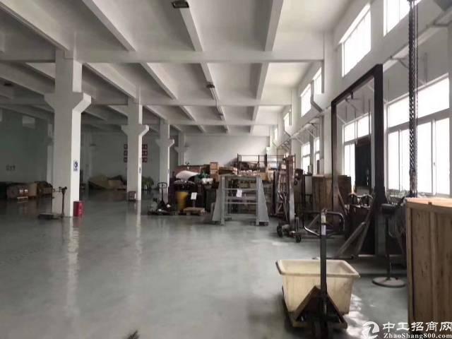 沙井镇沙一松福大道边一楼1800平方带装修厂房出租6米高-图5