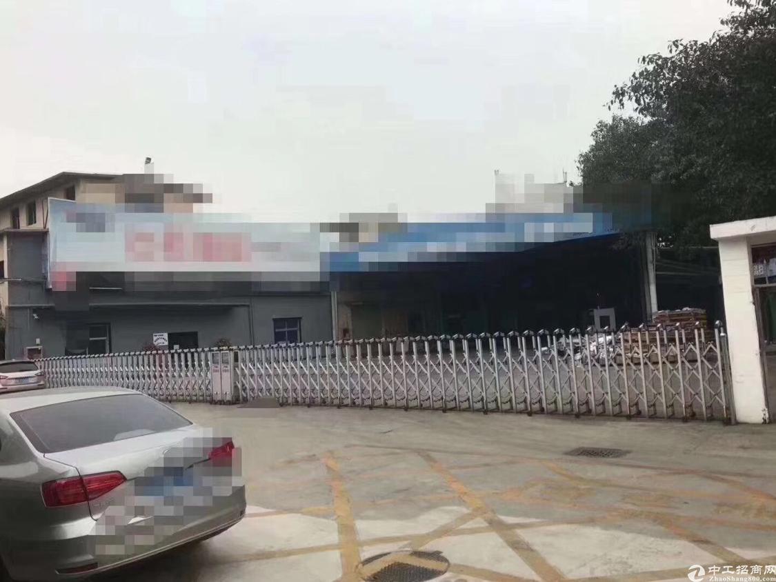 沙井107国道边新出单一层标准厂房7500平米