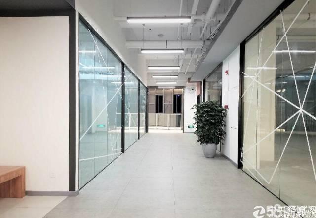 黄埔区鱼珠地铁站旁空中花园式写字楼招租80平