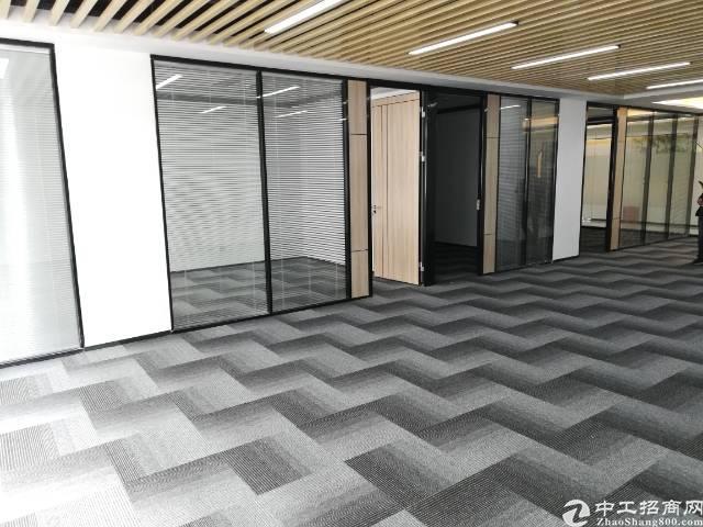 西乡银田6000平带装修厂房出租100平起分可注册