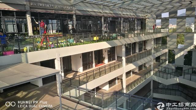 广汕公路边黄陂地铁站放大镜创意园写字楼招租