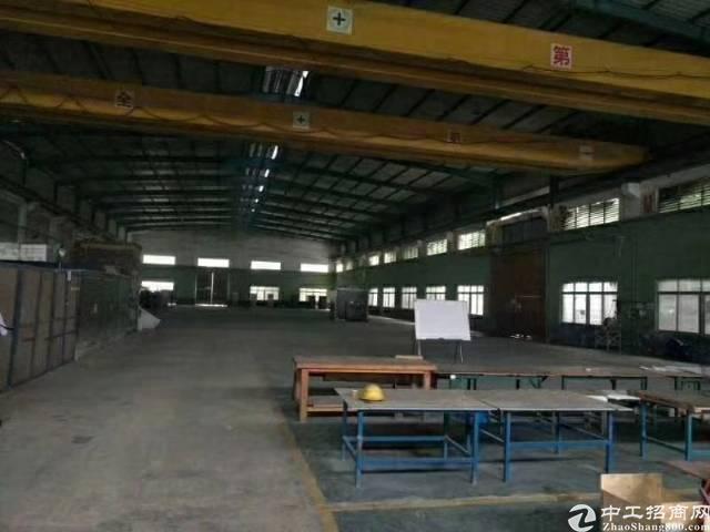 惠阳镇隆大路边新出砖墙到顶独院钢构厂房3000平出租-图2