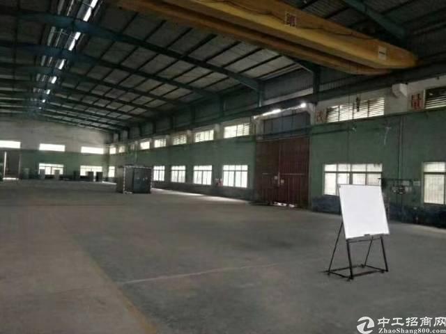惠阳镇隆大路边新出砖墙到顶独院钢构厂房3000平出租-图3