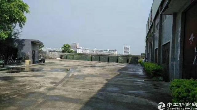 惠阳镇隆大路边新出砖墙到顶独院钢构厂房3000平出租