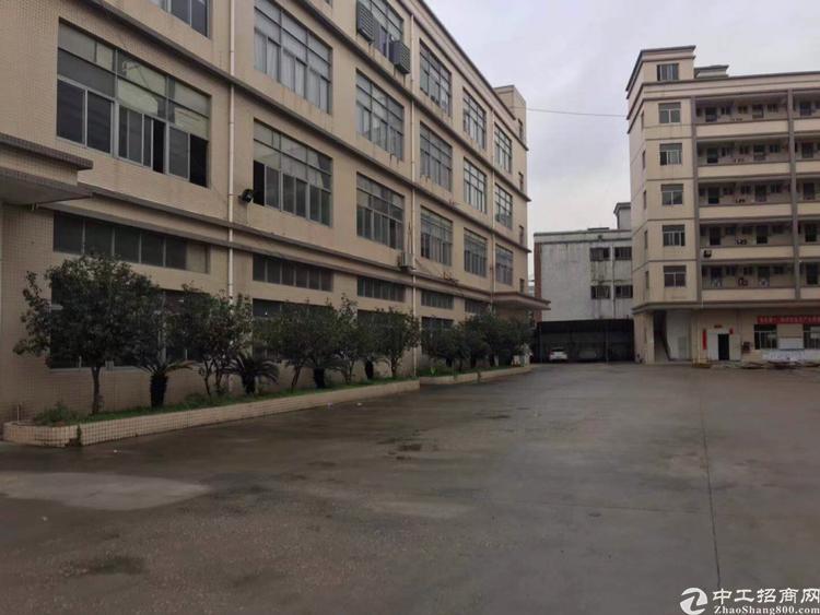 仓库光明大型园区楼上整层3000平无公摊带红本