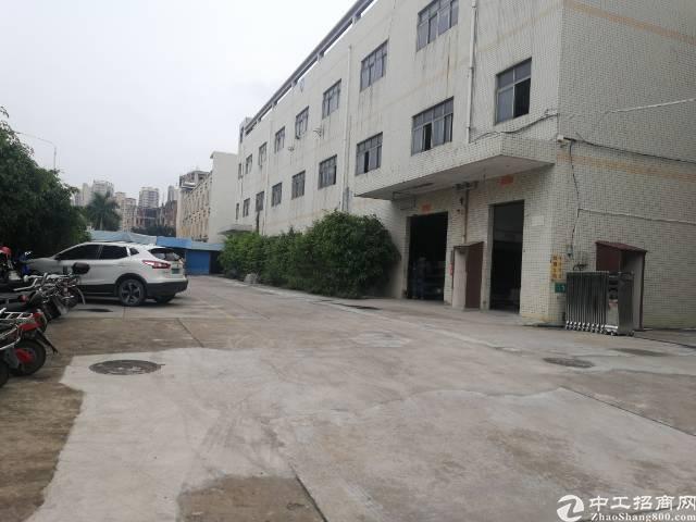 公明镇新出厂房4楼500平方带精装修出租-图5