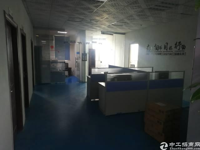 公明镇新出厂房4楼500平方带精装修出租-图3