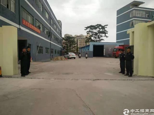 平湖原房东独院厂房1500平米出租使用率百分之九十