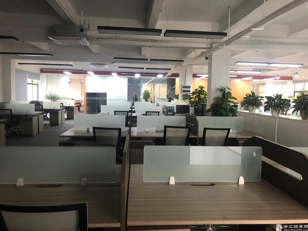 松湖云谷创业园写字楼办公室招租合电商现成装修拎包入住