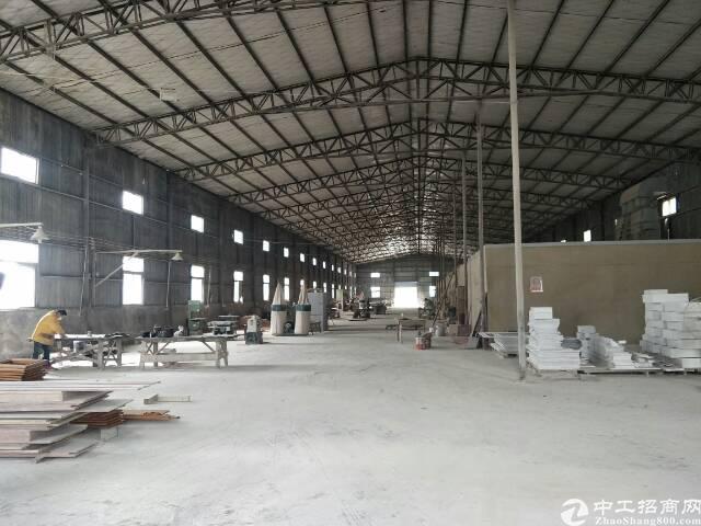 汉口北2000平钢结构厂房,自带喷漆房,可做家具,轻加工