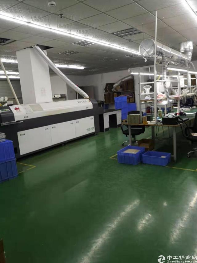 观澜章阁科技园精装修厂房450平方