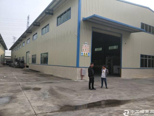 企石镇单一层钢构厂房3000平方滴水10米