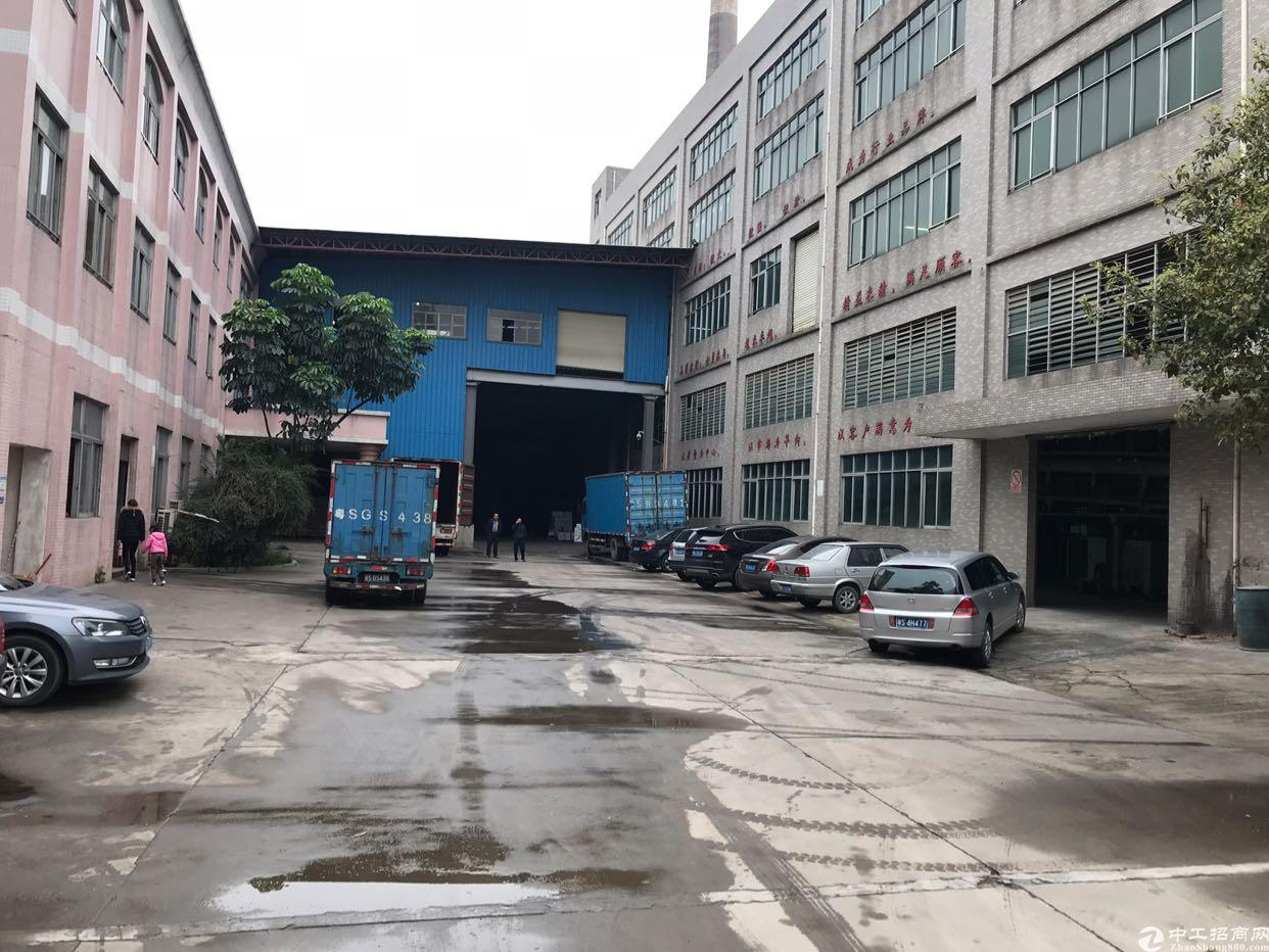 东莞市望牛墩原房东独门独院标准厂房有独立办公楼
