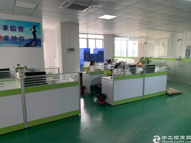长安镇乌沙四楼新出3700平方带精装修厂房