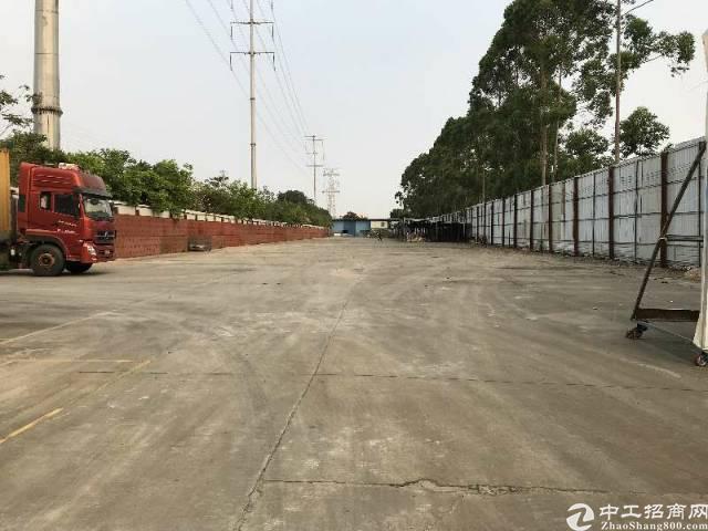 黄埔新出独门独院钢构厂房3000平12米高+空地8000