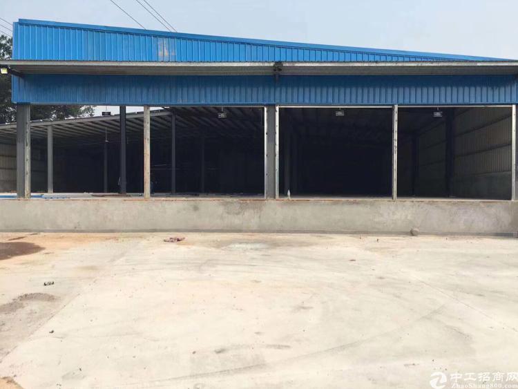 观澜新出物流仓库10000平方米滴水7米钢结构