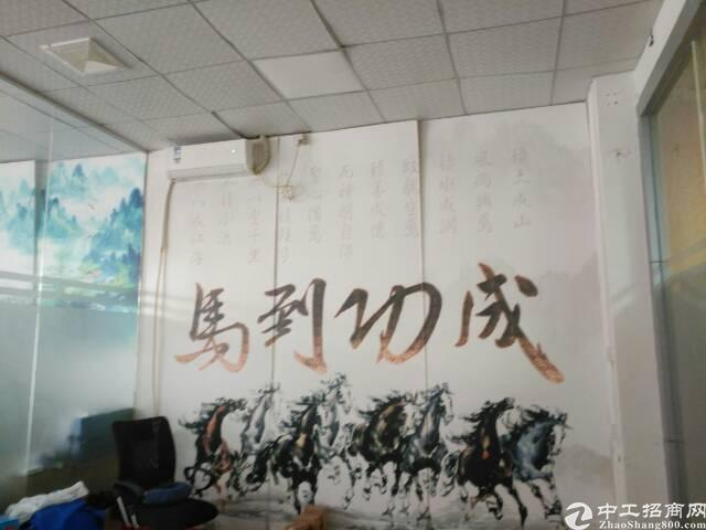 深圳福永宝安大道上,一楼物流园