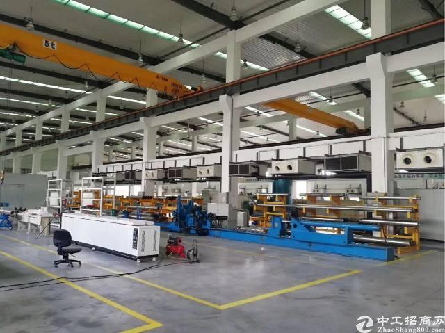 广州黄浦科学城滴水超高带行车单一层钢构厂房出租
