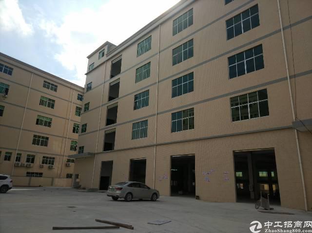 标准厂房楼上2300平米出租大小面积分租
