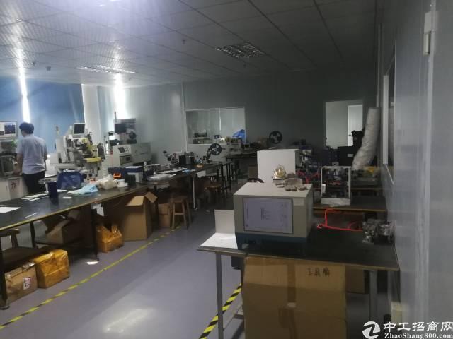 公明镇新出厂房3楼800平方带精装带无尘车间出租-图5