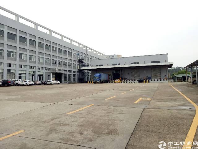 (优质厂房)坪山区坑梓比亚迪旁红本厂房21000平米可分租