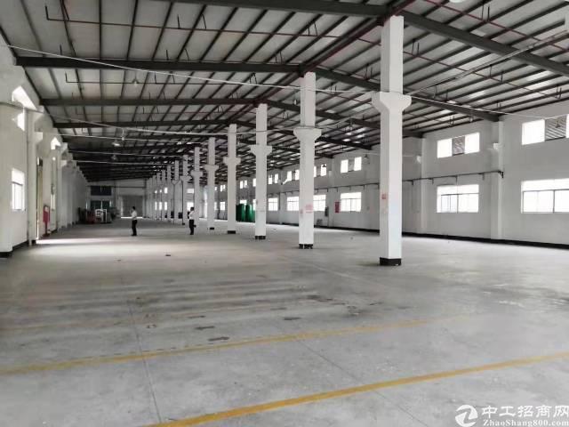 滴水7米钢构厂房3900平米出租