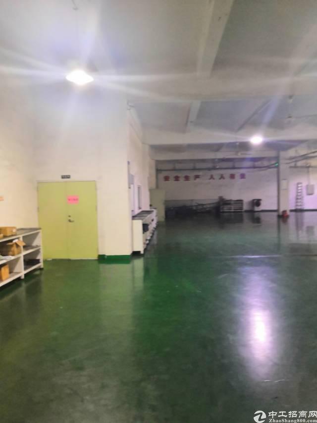 松岗燕川新出独院红本厂房一个1300㎡带装修