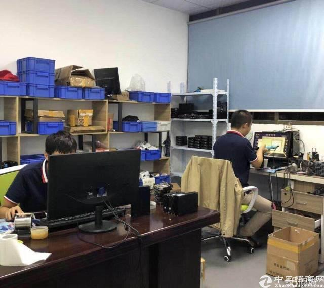 龙华天虹附近新出楼上600平精装修无转让费办公室加小仓库-图6