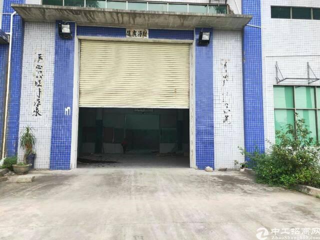 万江新出厂房单一层出租6000平方,环境非常漂亮,电很大