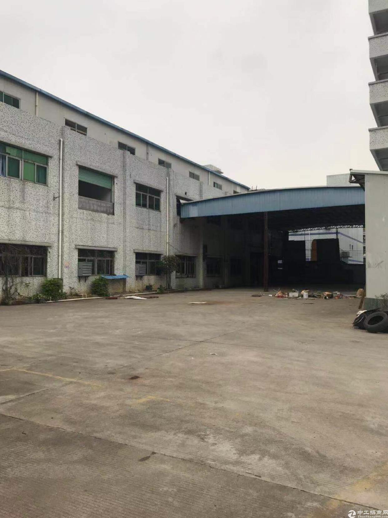 东莞凤岗原房东独院厂房加宿舍4200平方