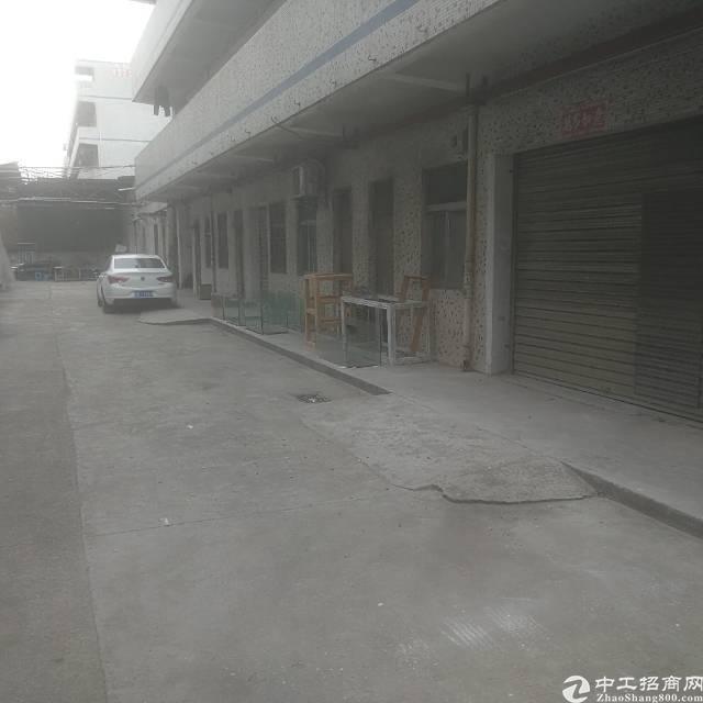 工业区独门独院一楼350平厂房招租,空地大,进出货物方便