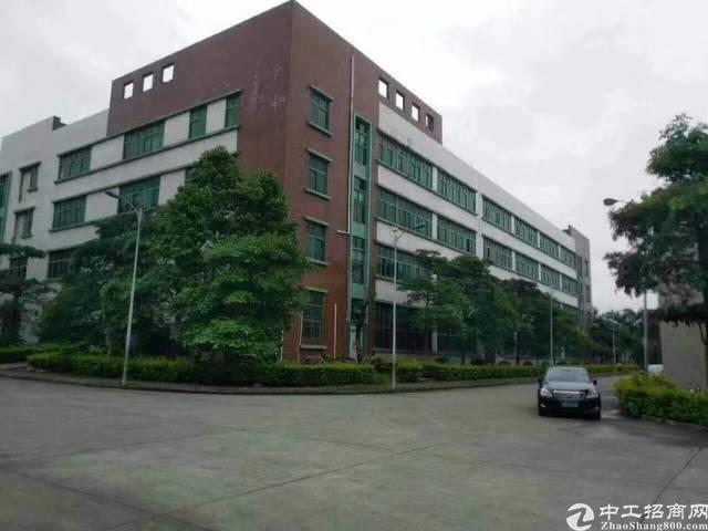 西乡桃源居附近1-4层11000独院厂房出租