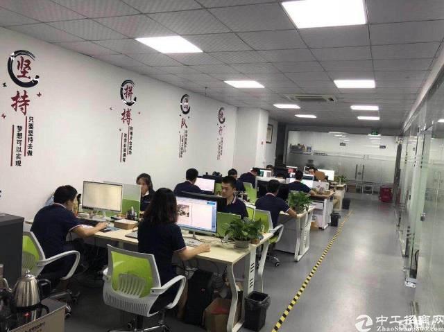 龙华天虹附近新出楼上600平精装修无转让费办公室加小仓库-图3